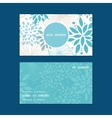 blue and gray plants vertical round frame pattern vector image