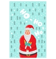 Cartoon character Santa Claus vector image
