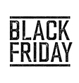 Black Friday Stamp vector image vector image