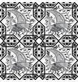 seljuk style iznik seamless pattern vector image vector image