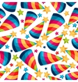 Celebration festive seamless pattern with fool vector image