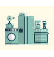 kitchen concept vector image