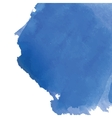 Blue watercolor background banner for your design vector image vector image