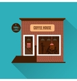 Restaurant or cafe in flat style vector image