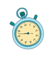 Colored doodle stopwatch vector image