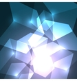 Cube abstract background vector image