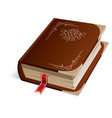 Hardcover Book vector image