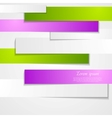 Abstract paper stripes vector image vector image