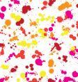 splatter pattern vector image vector image