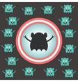 cute alien invasion vector image