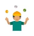 Ball Juggling vector image