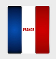 France Flags concept design vector image vector image