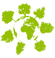 world tree ecology vector image vector image