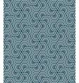 geometric blue seamless pattern vector image