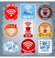 Free Wi-Fi vector image vector image