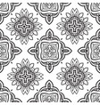 hand drawn ethnic ornamental seamless vector image