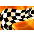 Background Horizontal Checkered vector image
