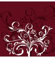 illustration the floral decor element vector image vector image