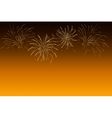 Fireworks - abstract holiday background Symbol of vector image