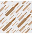 gun bullets seamless background vector image vector image