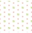 Seamless baby pattern Feeding bottle vector image