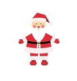 Dear Christmas character Santa Claus in vector image