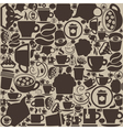 Background coffee vector image