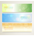 Banner Abstract background Twinkle vector image
