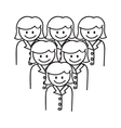 Corporate Team vector image