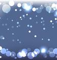sparkling blue background vector image