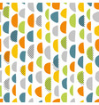 simple hand pattern vector image