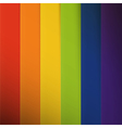 Abstract colorful rainbow stripes background vector image vector image
