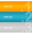 Arrow speech templates for text vector image