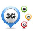 3G Icon vector image
