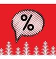 Sale doodle speech bubble box Scribble sketch vector image vector image