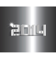 metallic new year background 0511 vector image vector image