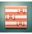 Box with gift vector image