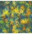 Abstract colorful Leaves Nature Background vector image