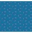 Blue seamless pattern with ornament vector image