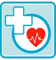 health care medical icon vector image