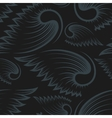 Seamless Pattern with Wings vector image