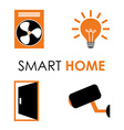 smart home vector image
