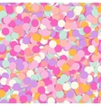 Festive seamless pattern with confectionery vector image