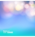 Bokeh and lens flare vector image vector image