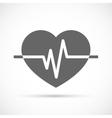 Heart beat Icon vector image