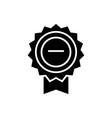 award base icon black sign vector image
