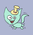 Funny cats Suitable for childrens stories and vector image