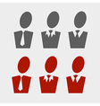 business pictogram set vector image
