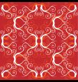 ornament wallpaper seamless old style vector image vector image