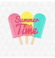 3ice-cream-summer-time vector image